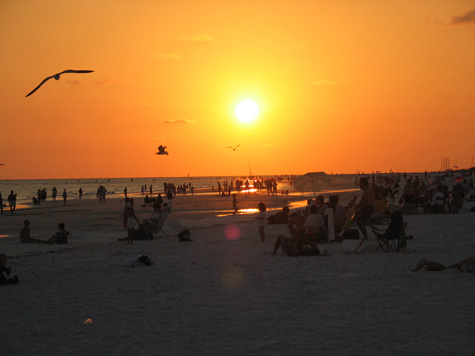 [picture: sunset on siesta key, may 17th]